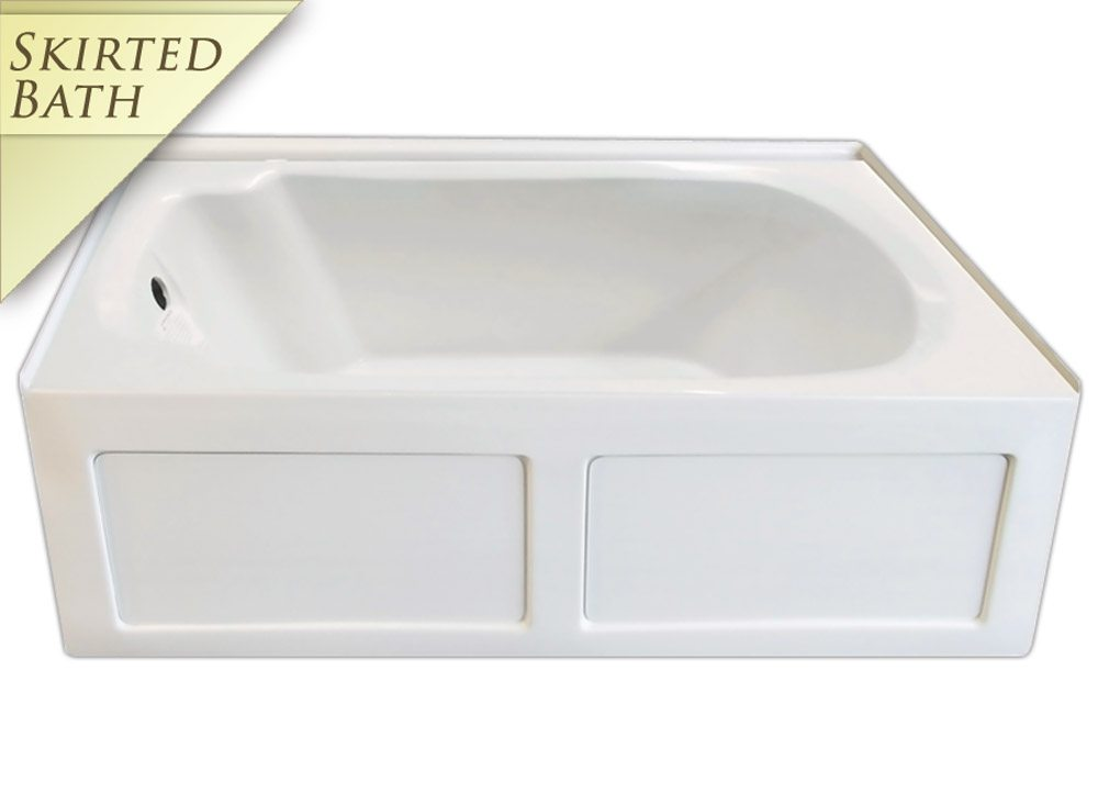 Signature S-11 Skirted Bath | Bathtubs For Less