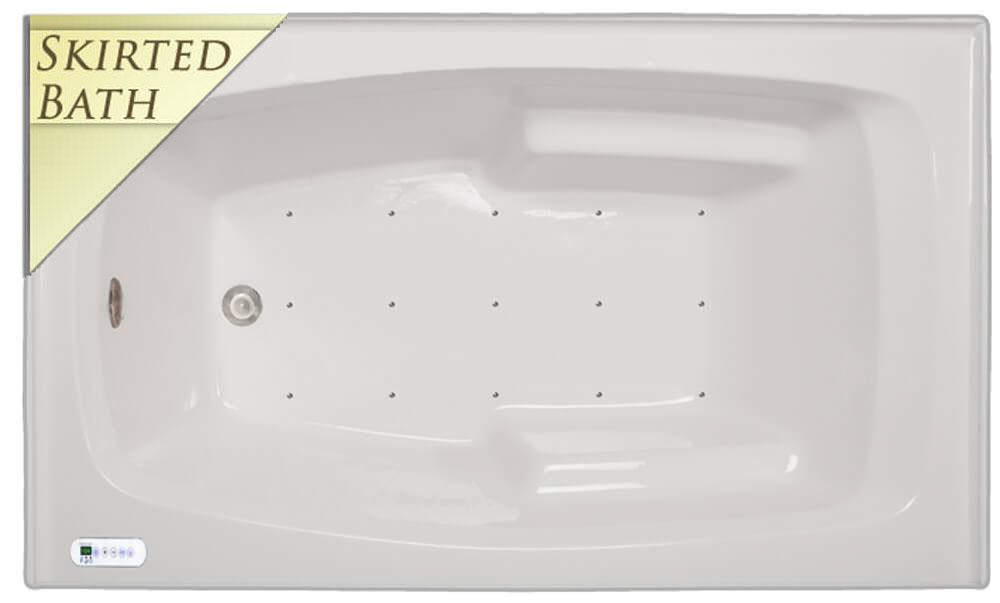 Signature A-237 Skirted Bath | Bathtubs For Less