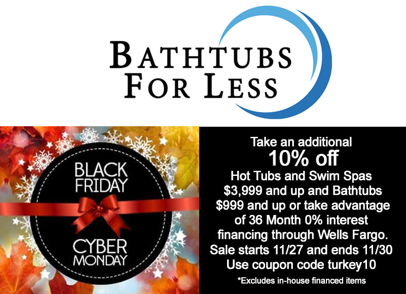 Bathtubs For Less Logo